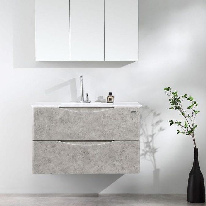 900mm wall hung vanity